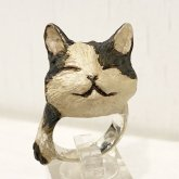 DECOvienya デコヴィーニャ おててネコリング 猫の指輪