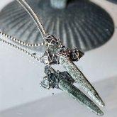 【一点物】飾屋しろがね ヒマラヤ水晶原石 ネックレス シルバーアクセサリー 首飾り