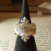 【ラスト一点】烏堂 仕立て屋の指輪 silver 白