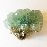 グリーンフローライト 原石   中国産 (Flourite) 寸法 : 63×51×38mm /約137 g 蛍石 鉱物 F001