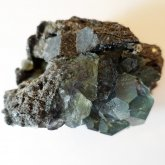 フローライト 原石   中国産 (Flourite) 寸法 : 69×51×31mm /約170g~ 蛍石 鉱物 F002