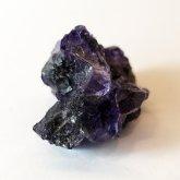 パープルフローライト 原石   中国産 (Flourite) 寸法 : 21×17×15mm /約20 g 蛍石 鉱物 F003