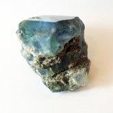 ブルーフローライト 原石   中国産 (Flourite) 寸法 : 28×25253mm /約48g 蛍石 鉱物 F020