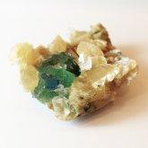 ホワイトグリーンフローライト 原石   中国産 (Flourite) 寸法 : 46×41×18mm /約78g 蛍石 鉱物 F023