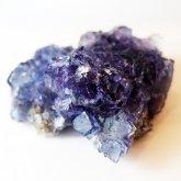 パープルフローライト 原石   中国産 (Flourite) 寸法 : 63×63×29mm /約170~ 蛍石 鉱物 F024