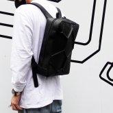 【受注】カガリユウスケ ボロノイリュック ブラック w20-03【2020 有機的な個体】