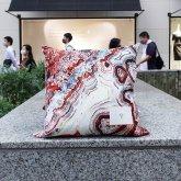 【受注】カガリユウスケ 壁布クッション【2020 有機的な個体】メノウ