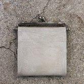 【ラスト1点】カガリユウスケ 何かのパーツ小銭入れ gray グレー コンクリート壁