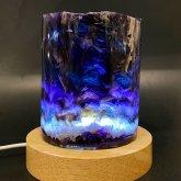 フローライトのランプ 011|原石ランプ 鉱物標本 照明 ジェムイルミネーション