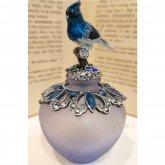 美しい青い鳥の香水瓶| アンティーク ヴィンテージ パフュームボトル