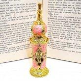 アラビアン調の香水ボトル ピンク 香水瓶| アンティーク ヴィンテージ パフュームボトル
