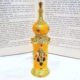 アラビアン調の香水ボトル イエロー 香水瓶| アンティーク ヴィンテージ パフュームボトル