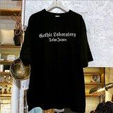 Gothic Laboratory ビッグシルエット ロゴ Tシャツ