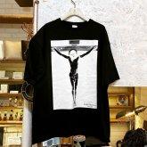 Gothic Laboratory Jesus Christ ビッグシルエット Tシャツ black