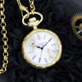 Classic Pocket watch White