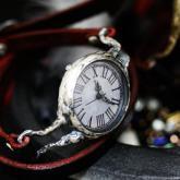 シルバー925の腕時計 eve Silver