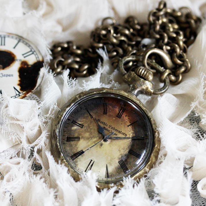 Classic Pocket watch、不思議の国のアリスの懐中時計