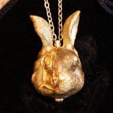ウサギの時計 rabbit