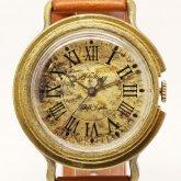 アンティークな腕時計 Retro レトロ ローマ数字文字盤