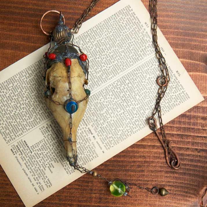 Mantam アルマジロネックレス Armadillo necklace