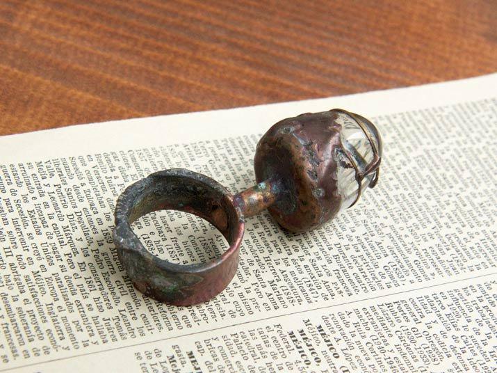 Mantam 水晶のリング Quartz ring