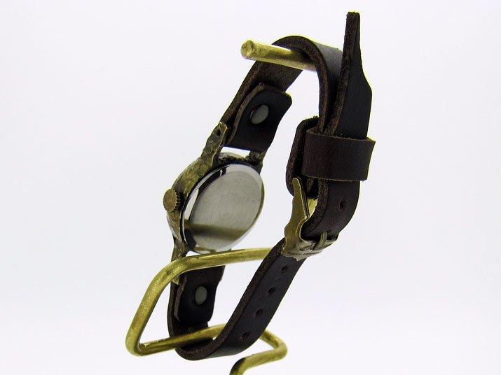 頭蓋骨柄の蝶の腕時計 Classic Wristwatch SS-size skull butterfly