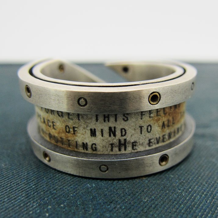 cchord コード 太陽と月の手紙リング Letter Ring