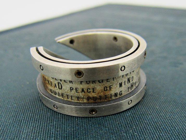 chord コード 太陽と月の手紙リング Letter Ring