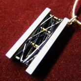 chord コード シルクの織りなすペンダント Untangle-Pendant