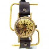 ミツバチの腕時計 Classic Wristwatch M-size honey bee
