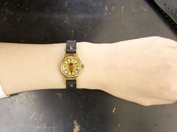 ミツバチの腕時計 Classic Wristwatch SS-size honey bee