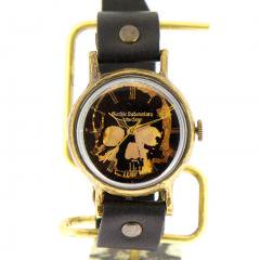 �[���̘r���v Big Skull Wristwatch Black L �X�J�� �� �����Y
