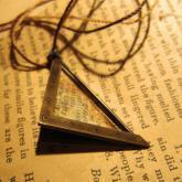 chord コード 太陽と月の手紙ペンダント Letter Pendant (真鍮)