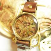 壮大な星空の腕時計 Classic Wristwatch Star chart 星座 L