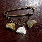 cocoon コクーン アサギマダラ 蝶のブローチ 真鍮