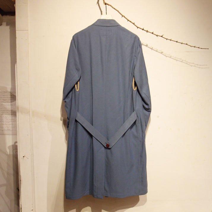 Shop Coat ショップコート ライトブルー|PHABLIC×KAZUI ファブリック×カズイ