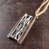 chord コード シルクの織りなすペンダント Relate-Pendant (真鍮)