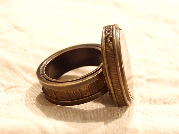 chord コード honey ring ハチミツのリング Time is (真鍮)