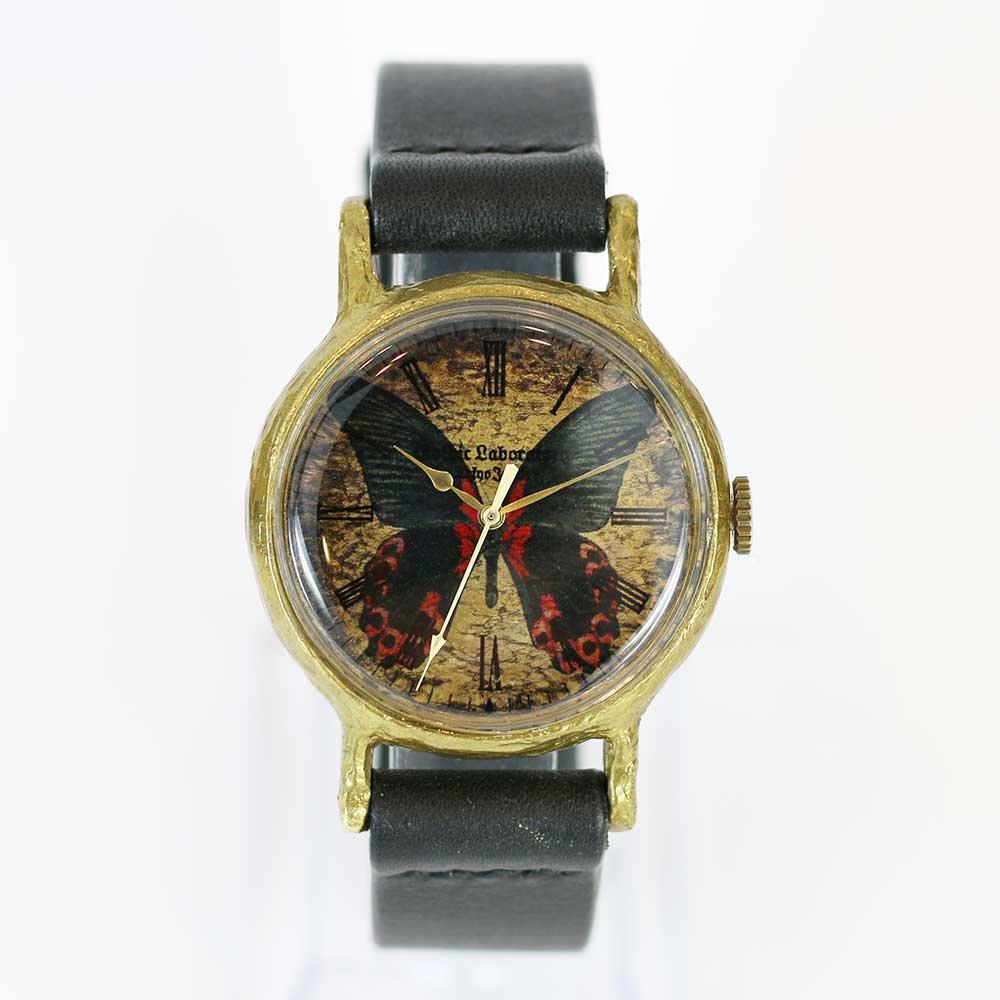 アカネアゲハの腕時計 Classic Wristwatch (L M SS) Papilio rumanzovia