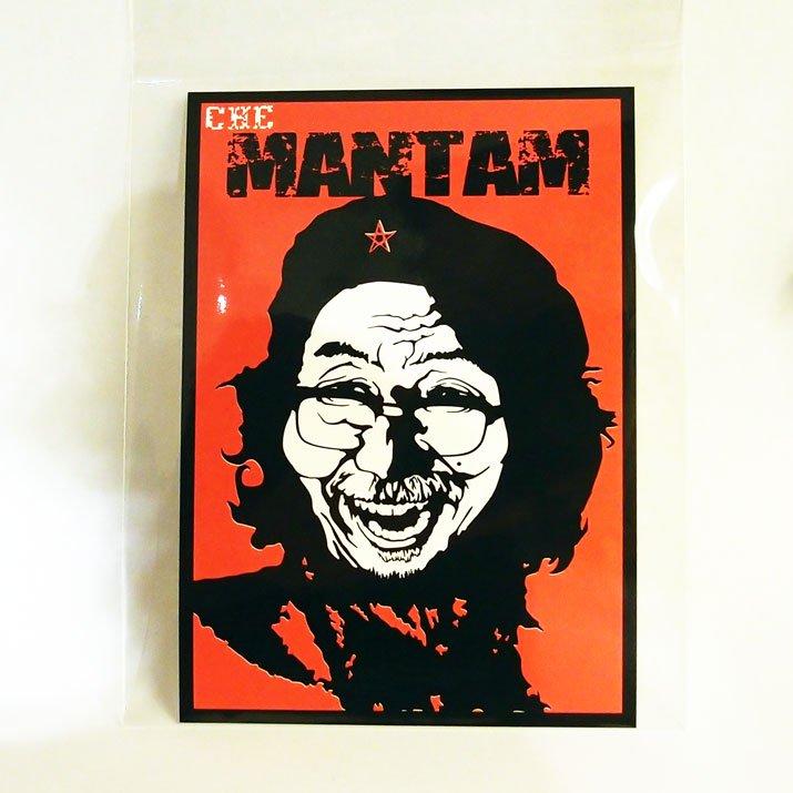 マンタム ステッカー Mantam × A STORY TOKYO ミュージアムグッズ