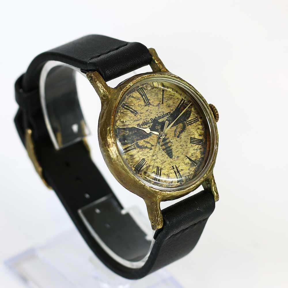 メンガタスズメの腕時計 Classic Wristwatch (L M SS) Acherontia atropos
