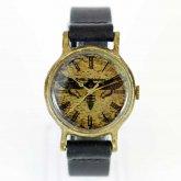メンガタスズメの腕時計 手作り腕時計 Acherontia atropos