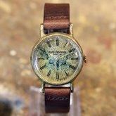 イボタガの腕時計 Classic Wristwatch Brahmaea hearseyi