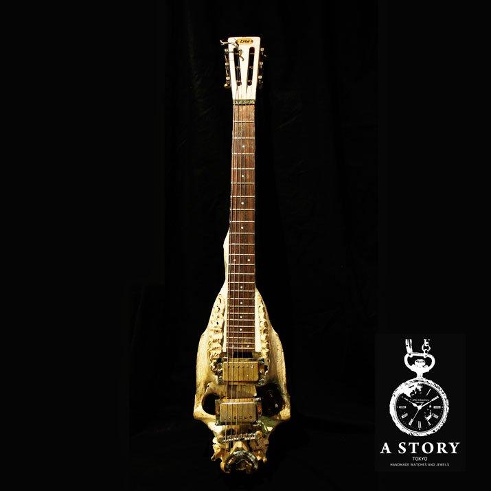 マンタム 馬の頭蓋骨のエレクトリックギター レイラ 初号機改