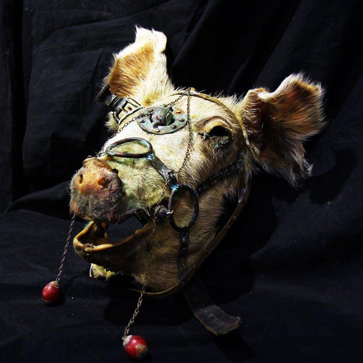 Mantam マンタム 「Po Nocの仮面」豚の仮面