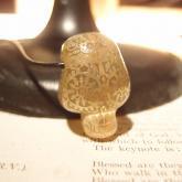 Caspol Glass カスポルグラス アンティーク模様のカラベラ ペンダント クリア