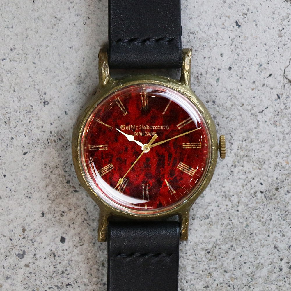 size 40 05ef9 5e61c アンティークな腕時計 Classic Wristwatch blood 赤文字盤|A STORY
