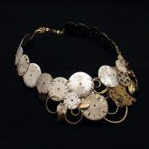 Tomoko Tokuda Steampunk necklace スチームパンクネックレス
