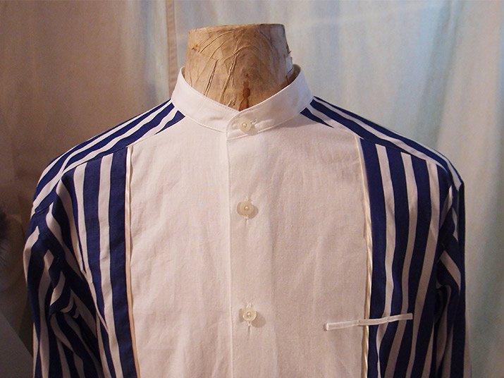 Change collar shirt ネイビー|PHABLIC×KAZUI ファブリック×カズイ
