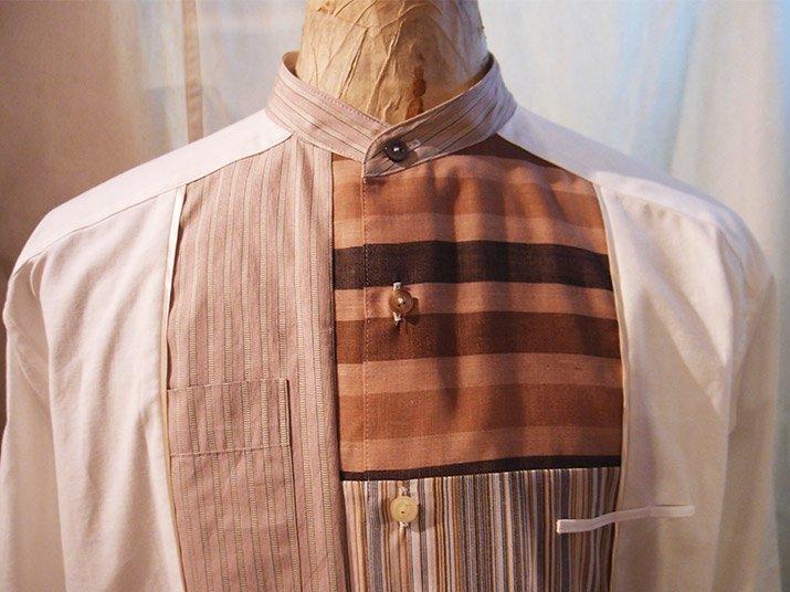 Change collar shirt レッド|PHABLIC×KAZUI ファブリック×カズイ